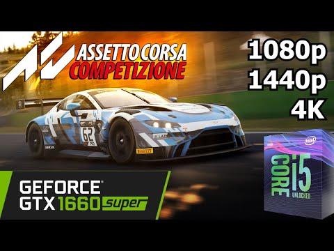 Assetto Corsa Competizione - GTX 1660 Super + i5 8500 - 1080p/1440p/4K - Gameplay Benchmark |