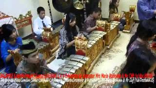 BALINESE Gamelan for Children,KJRI L.A(Liar-Samas):By instructur Mrs Maria Bodmann & Mr Cliff (HDK5)