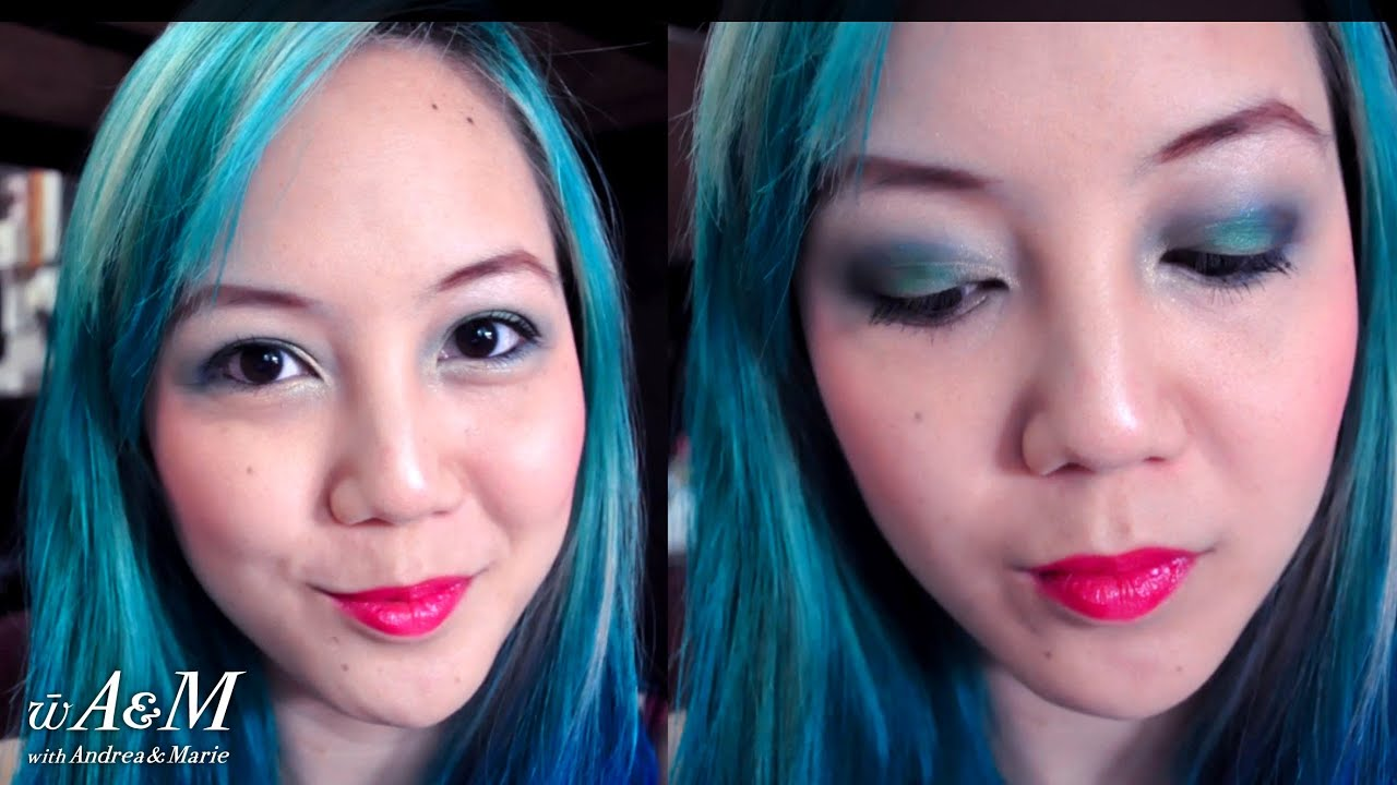 Mermaid Ish Katy Perry Inspired Makeup Youtube Nyx Lips Smacking Fun Color Lss