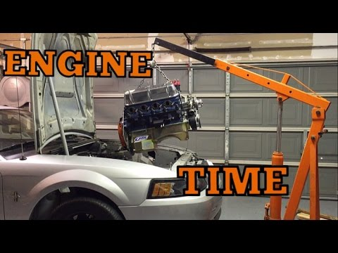 400 HP 289 ENGINE INSTALLATION IN A NEW EDGE MUSTANG