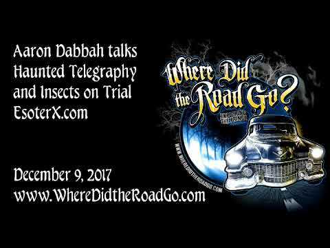 Aaron Dabbah on Haunted Telegraphy and more - December 9, 2017