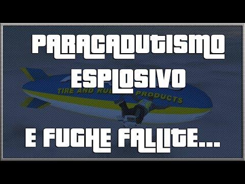 GTA 5 | Paracadutismo ESPLOSIVO.. E Fughe Fallite!