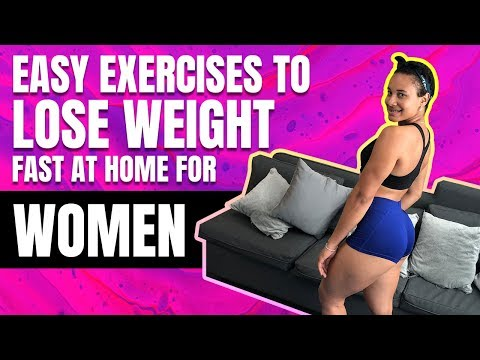Easy Workout for Weight Loss At Home for Women