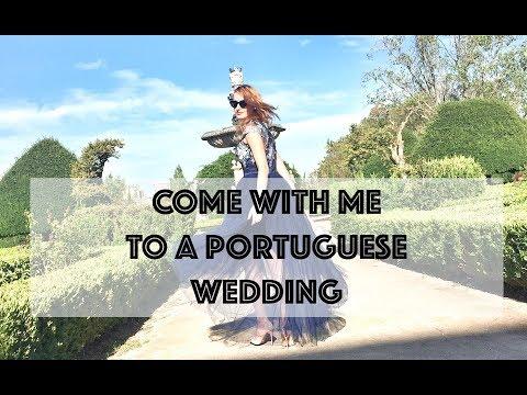 LISBON VLOG: JOIN ME AT A PORTUGUESE WEDDING