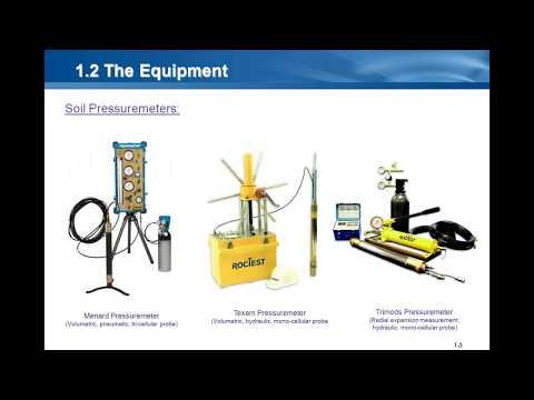 Webinar 23: Pressuremeters And Other In Situ Testing Equipment