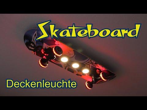 """skateboard-deckenleuchte-""""easy-cruiser""""-von-evotec"""