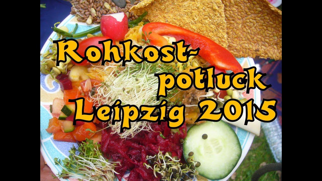 Leipziger Rohkostpotluck im April 2015