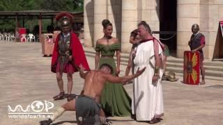 Terra Mitica - Espartacus Show 2016 -  Spartakus Stunt Show 2016 Terra Mítica Benidorm thumbnail