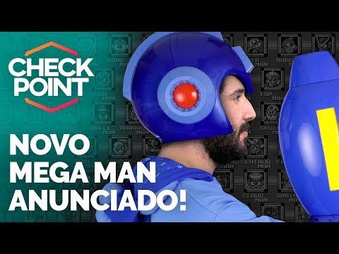 MEGA MAN 11, MEGA MAN X COLLECTION, PS VR NO BRASIL E RECOMPENSAS DE BATTLEFRONT 2 - Checkpoint!