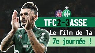 Toulouse 2-3 ASSE: le film du match