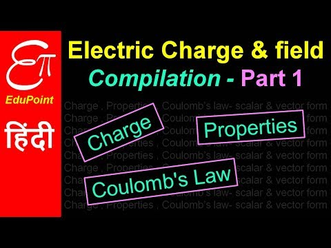 Electric Charge and Field | Compilation - Part 1 | video in HINDI