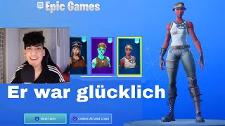 I tried my RECON EXPERT Fortnite account with Streamer to MERGEN...