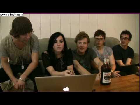 Demi Lovato & Band Live Chat 8/21/09
