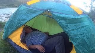 Обзор двухместной палатки автомат грее