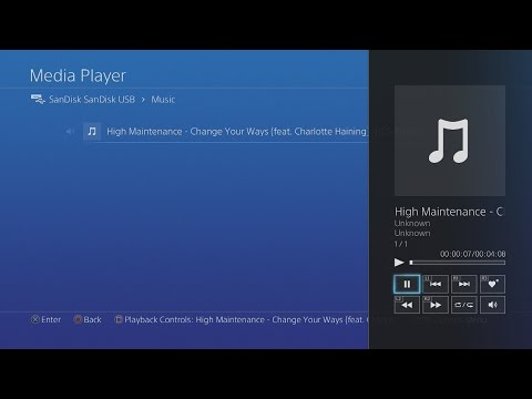 How To Put Music On PS4 (EASY TUTORIAL) 2017