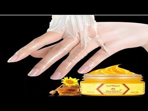 LAMILEE Milk Honey Hand Mask Hand Care Moisturizing Whitening