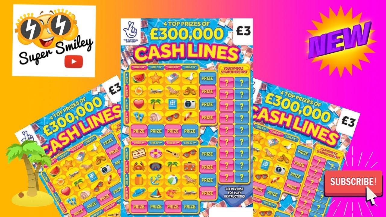 🕶 ☀️ Cashlines Scratch Cards ☀️ 🕶
