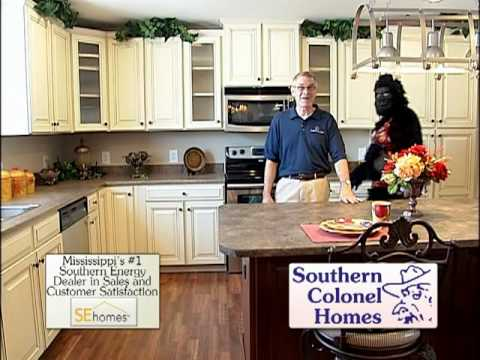 Whlt southern colonel homes hot monkey youtube for Colonel homes