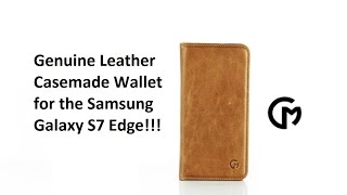 review of the casemade leather wallet case for the samsung galaxy s7 edge
