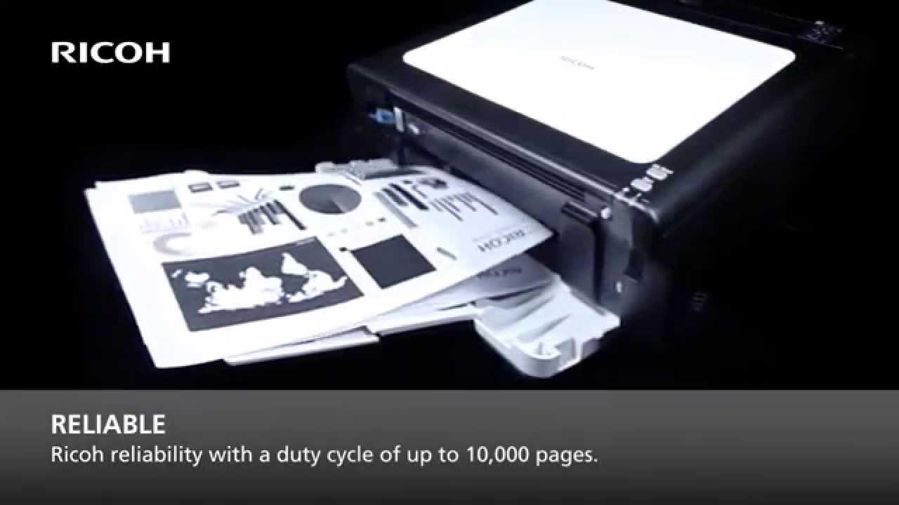 Ricoh SP 112 Entry level A4 mono laser printer
