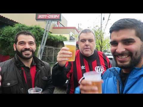 En La Arena da Baixada del Atletico Paranaense (Brasil) ocurrió algo que no nos había pasado!!