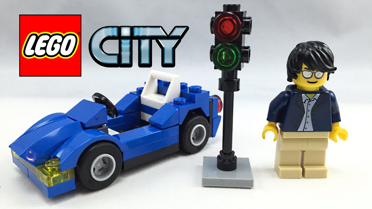 lego city 2016 car set review 30349 youtube. Black Bedroom Furniture Sets. Home Design Ideas