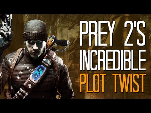 The cancelled Prey 2 had an incredible plot twist - Here's A Thing