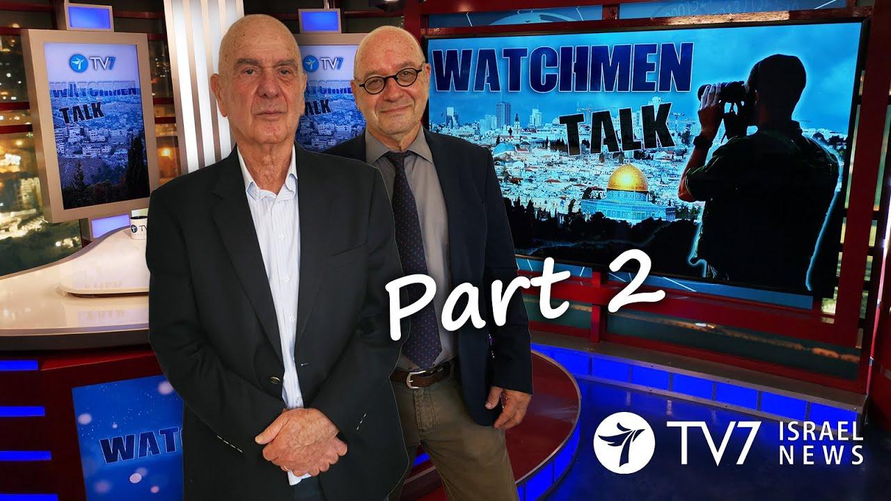 TV7 Israel: Watchmen Talk – fmr. IDF Dep. Chief, Amb & Min. Maj. Gen. (res.) Matan Vilnai (Part II)