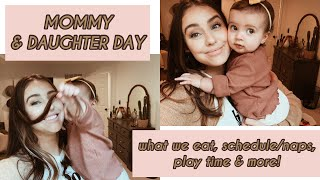 Mommy/Daughter Day! Life with an 8 month old