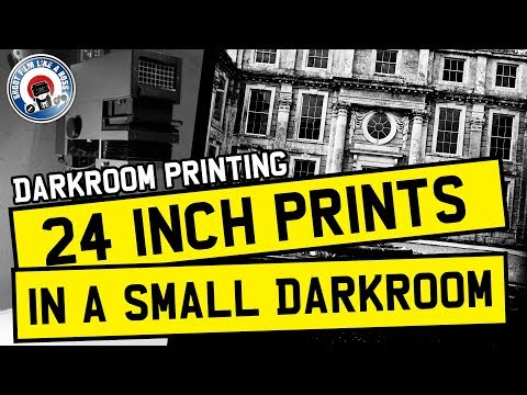 Darkroom Photography Process - 24 Inch Print Making