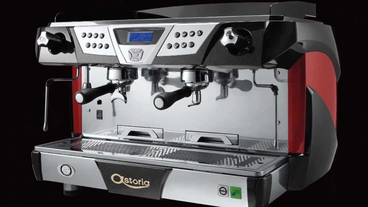 astoria plus 4 you espresso machine youtube. Black Bedroom Furniture Sets. Home Design Ideas