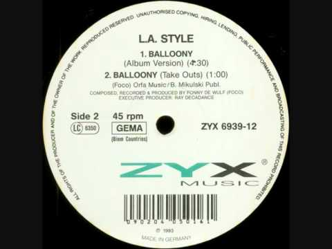 L.A. Style - Balloony (Album Version) (1992)