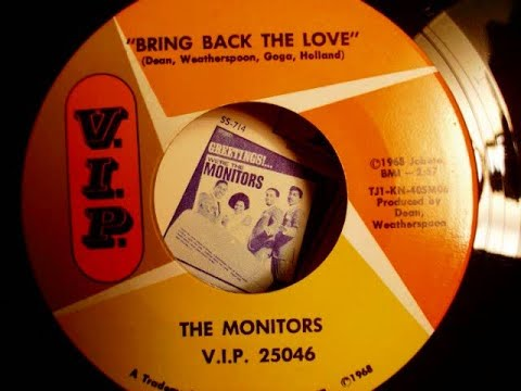"""""""Motown Music"""" """"The Monitors Bring Back The Love"""""""
