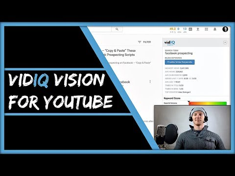 vidIQ Vision For YouTube - How To Use vidIQ To Ethically Spy On Your Competition...