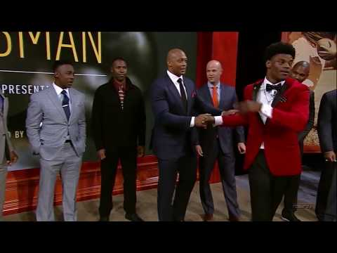 Lamar Jackson Heisman Trophy Speech 2016