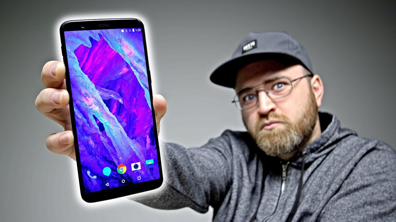 OnePlus 5T Unboxing - Is This The One? Unbox Therapy