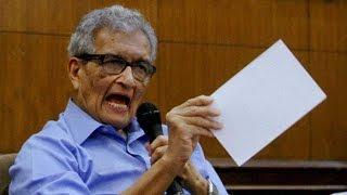 Amartya Sen lashes out at Modi govt, Tavleen Singh react