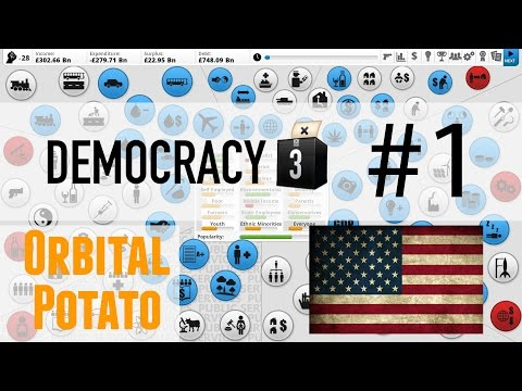 Democracy 3 - All DLC - Part 1 - Debt Free USA
