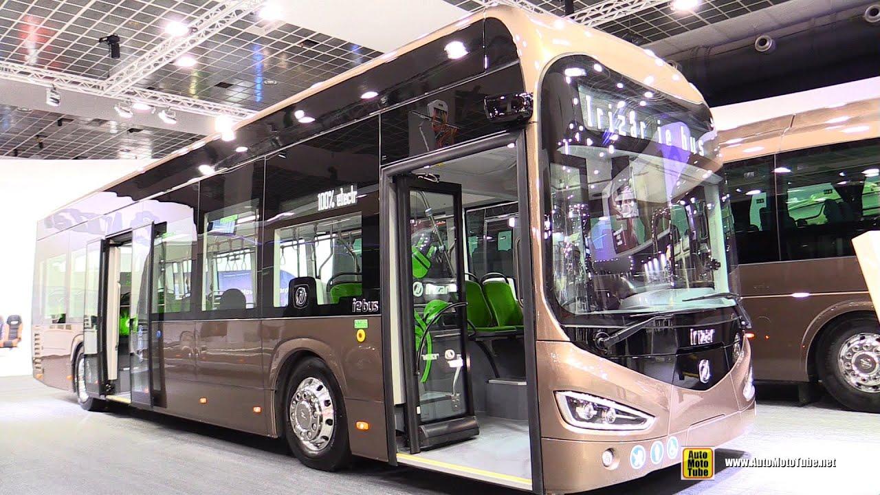 2020 Irizar ie Electric Bus Walkaround - Exterior Interior Tour