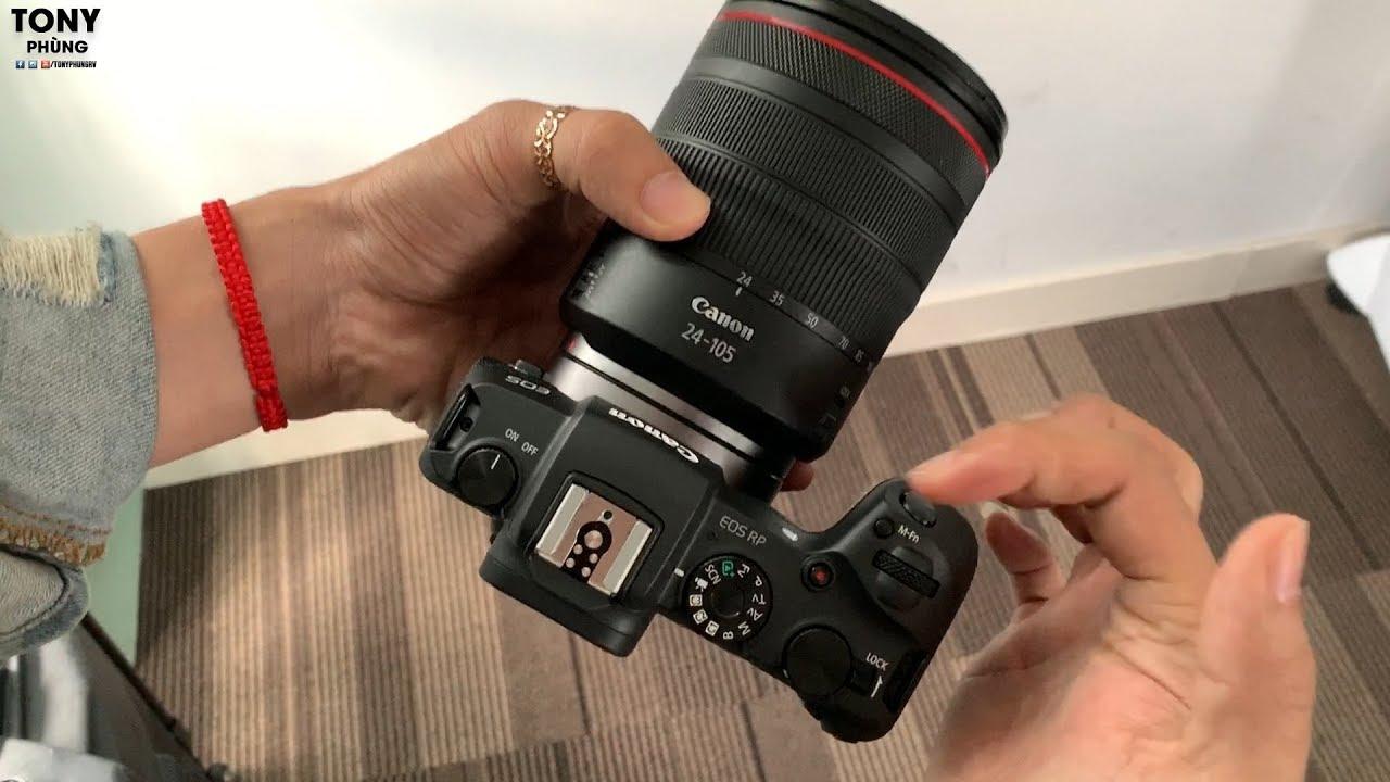 Trên tay máy ảnh không gương lật Canon EOS RP – Fullframe giá tốt của Canon