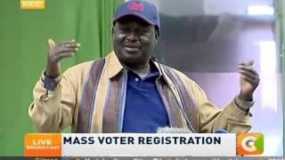 Gov't, opposition laud IEBC for preparedness for voter registration