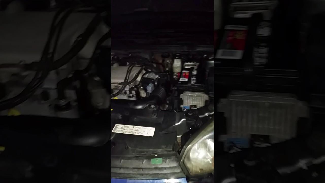 2005 Chevy Malibu Maxx V6 Starter Location Youtube 2008 Wiring Diagram