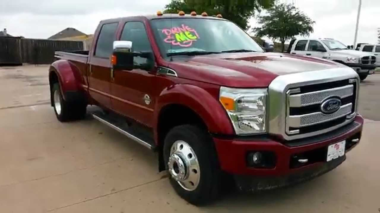 first all new 2015 ford f450 platinum edition 4x4 ruby red youtube. Black Bedroom Furniture Sets. Home Design Ideas