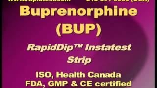 Buprenorphine Drugtest BUP Drugtest