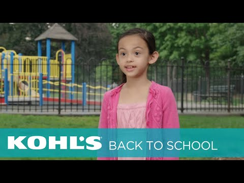 Kids' #BigPlans for Back to School with Kohl's