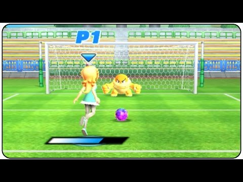 Mario Sports Superstars (3DS) - All Characters Football Gameplay