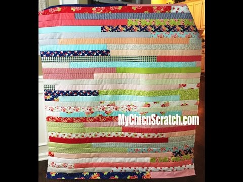 Jelly Roll Quilt Youtube