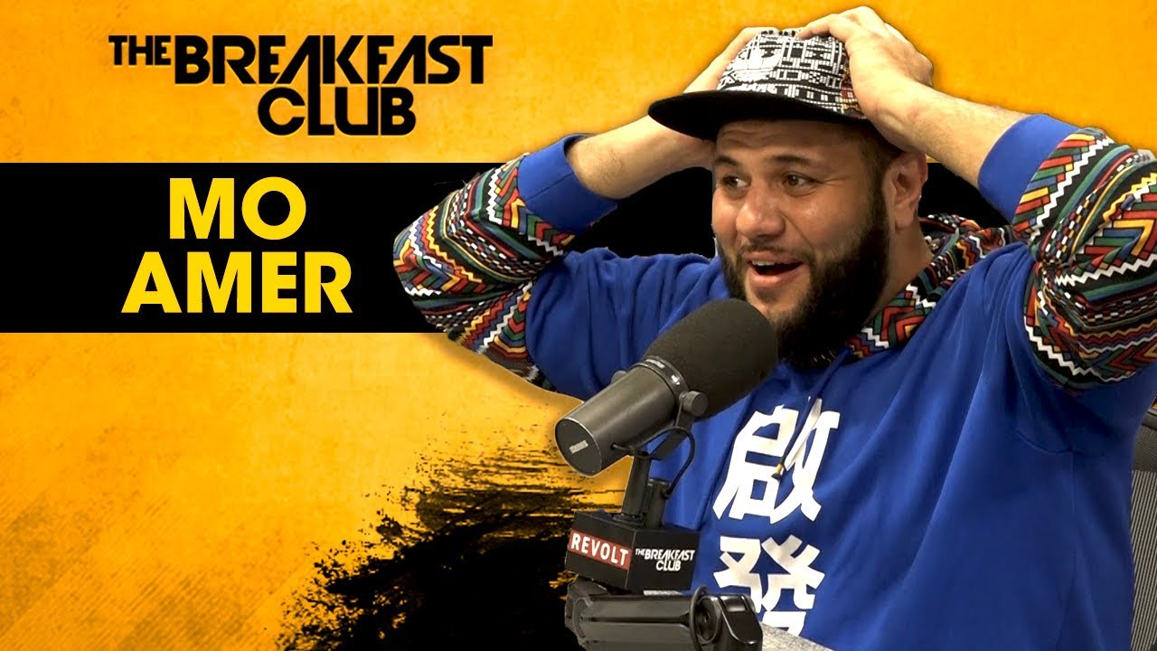 Comedian Mo Amer Talks New Special 'The Vagabond', Donnell Rawlings, Eric Trump, Odd Jobs + More