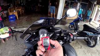 Honda CBR150fi with SPY 5000m Motorcycle Alarm