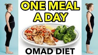 One Meal A Day (OMAD) | OMAD Fasting Diet For Extreme Weight Loss